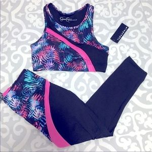 Jessica Simpson The Warmup Workout Outfit